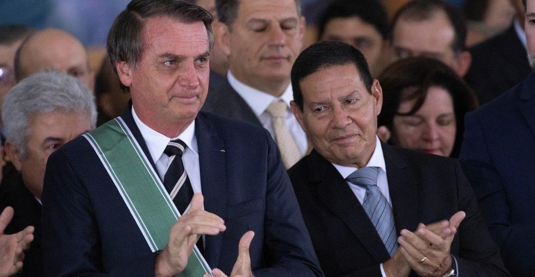 Fotografía de EFE. Referencial. Jair Bolsonaro, Presidente de Brasil.