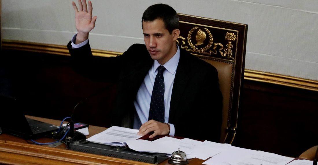 Guaidó preside la Asamblea Nacional