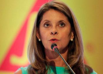 Vicepresidenta de Colombia, Marta Lucía Ramírez. Archivo América Digital.