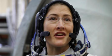 La astronauta estadounidense Christina Koch. Foto: EFE.