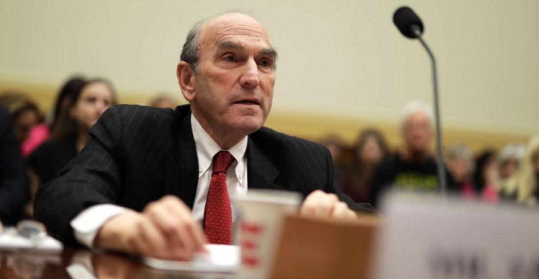 Elliot Abrams, enviado especial de Estados Unidos para Venezuela