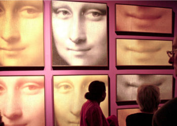 Hallan un mechón de pelo de Leonardo Da Vinci. Foto: EFE