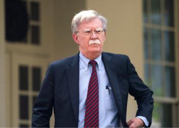 El asesor de Seguridad Nacional de Estados Unidos, John Bolton. Foto: EFE