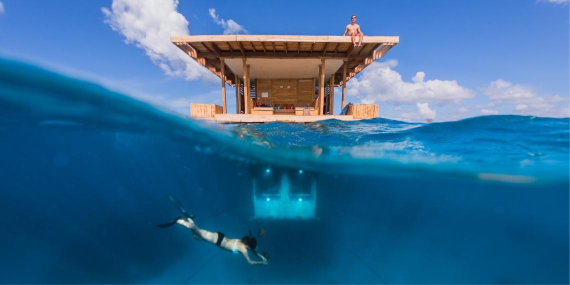 El Manta Resort está ubicado en la Isla de Pemba, un terreno que conforma un archipiélago en Tanzania (África). Foto: EFE