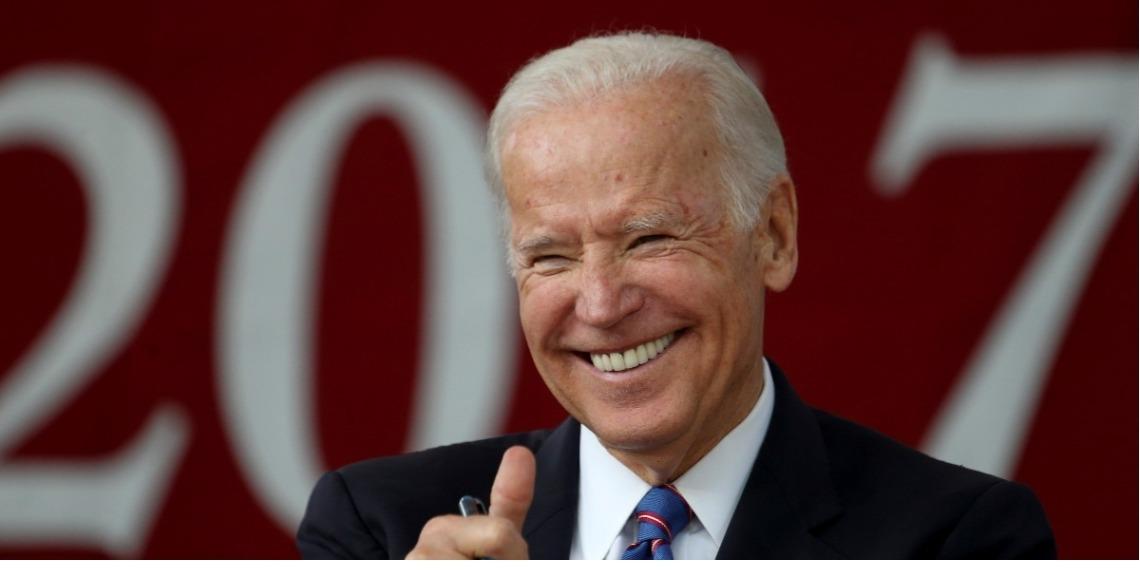 Joe Biden,  candidato  a la presidencia de Estados Unidos por el Partido Demócrata.  Foto: EFE