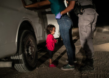 Fotografía del año, tomada por John Moore el 12 de junio de 2018 y cedida por la organización World Press Photo. EFE/John Moore/Getty Images.