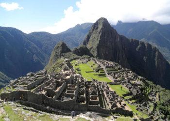 La formidable ciudadela de Machu Picchu ha encontrado en el reciclaje la sostenibilidad. Foto: EFE.