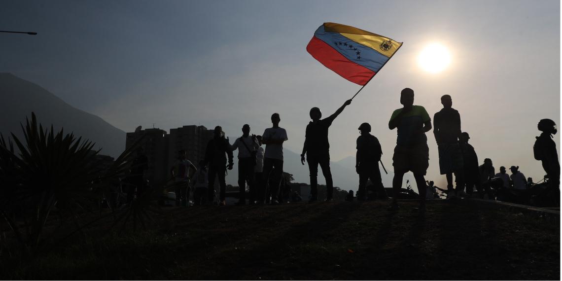 El panorama de incertidumbre aumenta cada vez más en Venezuela. Foto: EFE