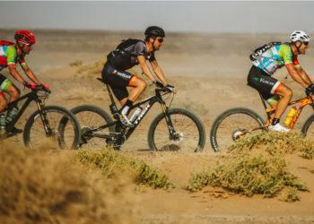 Ciclomontañista falleció durante la segunda etapa de la carrera Titan Desert. Foto: Titan Desert / Cristian Casal.