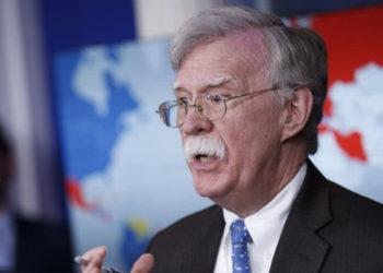 El exasesor de Seguridad Nacional de Estados Unidos, John Bolton. Foto: EFE