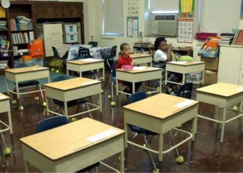 Escuela en Estados Unidos. Foto: EFE
