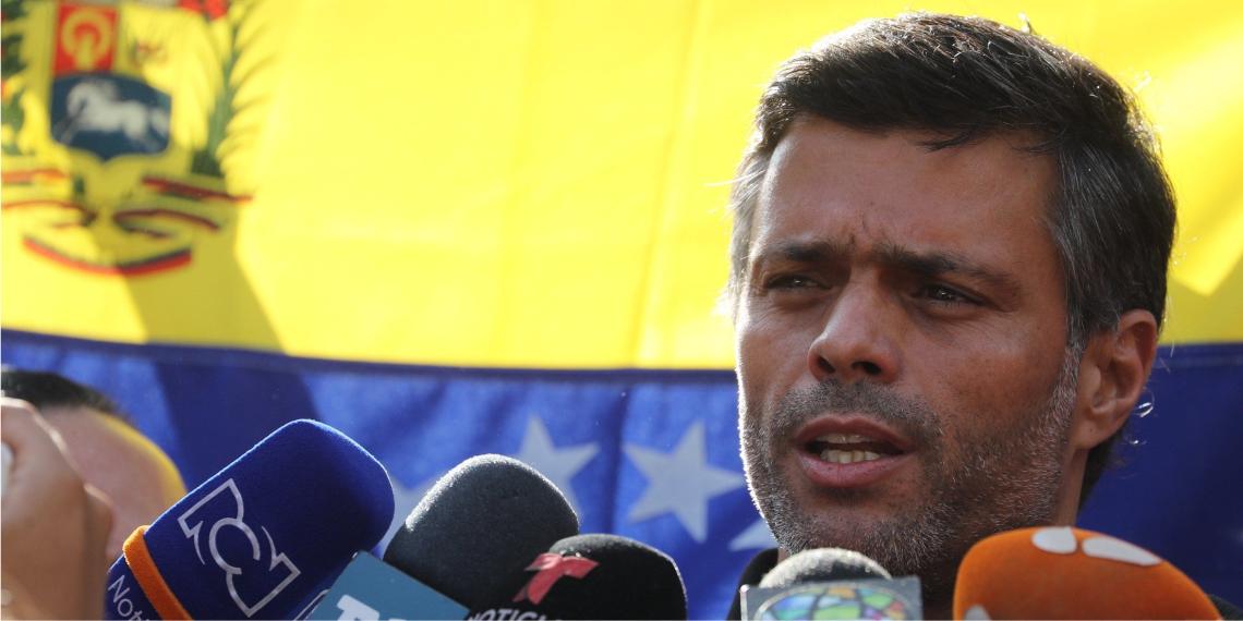 El líder opositor Leopoldo López pronosticó un cambio de poder en Venezuela las próximas semanas. Foto: EFE.