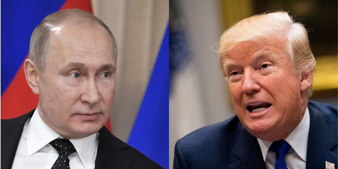 Vladímir Putin y Donald Trump. Foto: EFE