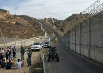 Frontera entre Estados Unidos y México. Foto: EFE